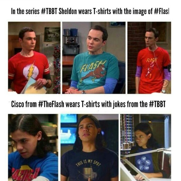 Cool Meme About Cisco From The Flash And Sheldon From The Big Bang